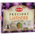 HEM Lavender Incense Cones - ICHLV