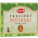 HEM Patchouli Incense Cones - ICHPA