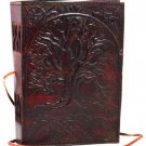 Sacred Oak Tree Leather Blank Book - BBBCSOT
