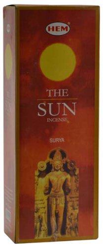 HEM Sun stick incense 20 sticks - ISH20TS