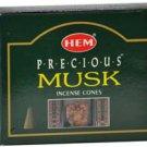 HEM Precious Musk 10 incense cones - ICHPM