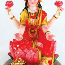 "Laxmi on Lotus Statue 5"" - SLL5"
