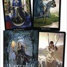 Witches tarot deck & book by Ellen Dugan - DWITTAR2