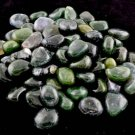 1 Lb Moss Agate tumbled stones - GTMOSAB