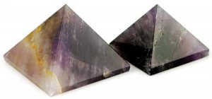 30-35mm Amethyst pyramid - GPYAM