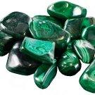 1 Lb Malachite tumbled stones - GTMALB
