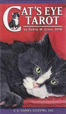Cat's Eye Tarot Deck by Debra Givin - DCATEYE