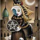 Deviant Moon (borderless) tarot deck by Patrick Valenza - DDEVMOOB