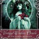 Vintage Wisdom oracle deck by Victoria Moseley - DVINWIS