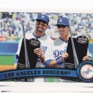 2011 TOPPS Series 2 Los Angeles Dodgers  team set Rc