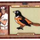 2011 TOPPS 2  COMMEMORATIVE PATCH Jim Palmer