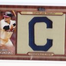 2011 Topps Commemorative Patch Carlos Santana