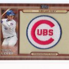 2011 Topps Starlin Castro Commemorative Patch Card
