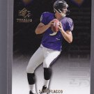RARE = 2009 SP Threads Die Cut JOE FLACCO #AP43 RAVENS