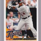 "Austin Jackson  2010 TOPPS ""Limited Edition""  RC4 = very tough to get in singles"