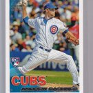 """ANDREW CASHNER  2010 TOPPS """"Limited Edition""""  RC8 = very tough to get in singles"""