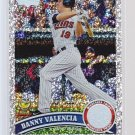 #387 Danny Valencia  = 2011 Topps  diamond