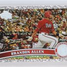 #457 Brandon Allen = 2011 Topps Series 2 Diamond Parallel
