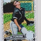 #395 Tyler Flowers  = 2011 Topps Series 2 diamond