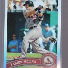 YADIER MOLINA  #32  = 2011 Topps Chrome Refractor  card