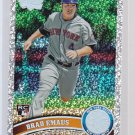 #427 Brad Emaus = 2011 Topps Series 2  Diamond Parallel