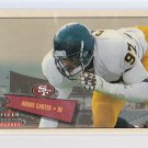 2001 Tradition Glossy ANDRE CARTER Rc  serial numbered to 2001  (stk#32)