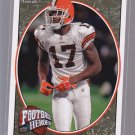 2008 UD Football Heroes BRANLAN EDWARDS numebered to 350   (stkft43)