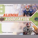 2009 UD Draft PERCY HARVIN / LOUIS MURPHY  NUMBERED TO 350 (stkft46)