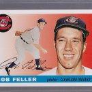 2011 Topps 1955 Bob Feller Original Back SP