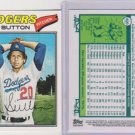 2011 60 YEARS OF Topps DON SUTTON oringinal back.  Tough insert