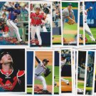 2010 Topps ATLANTA BRAVES  series 1 & 2 Team set = 22 card Set! HEYWARD ROOKIE
