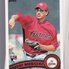 10 Card lot = 2011 Topps ANEURY RODRIGUEZ Rookie #506    ASTROS
