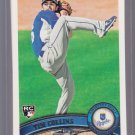 5 Card lot = 2011 Topps  TIM COLLINS Rookie #471  ROYALS