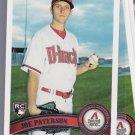 10 Card lot = 2011 Topps JOE PATERSON  Rookie #604 DIAMONDBACKS
