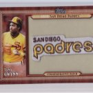 2011 Topps Commemorative Patch SD Padres Tony Gwynn