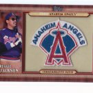 + Reggie Jackson 2011 Topps Commemorative Patch + PLUS + ANGELS TEAM SET!