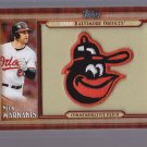+ 2011 Topps Commemorative Patch Nick Markakis + PLUS +  ORIOLES TEAM SET!