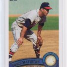 Super Sale  2011 Topps 2 Variation EDDIE MATHEWS  #640 SP = Case Hit 1 per case
