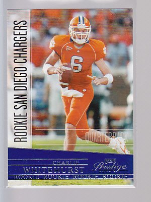 CHARLIE WHITEHURST 2006 Playoff Prestige Rookie RC #171   ---stk504