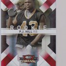 2009 THREADS   P.J. HILL RC  #177    BADGERS    ---stk502
