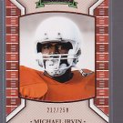 2011 Press Pass Legends Bronze #70 Michael Irvin #ed to /250   *stk0488