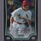 2009 BOWMAN CHROME COLBY RASMUS ROOKIE CARD RC CARDINAL   *stk0447