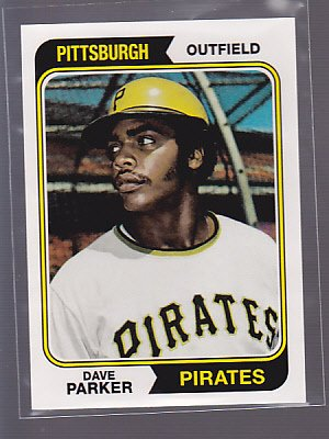2011 Topps 60 Years of Topps #82 DAVE PARKER PIRATES