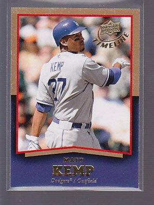2008 Upper Deck Timeline Gold #23 Matt Kemp                            __stk0245