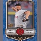 2009 Piece of History BLUE JOSH BECKETT SERIAL #ED / 299       *stk0165