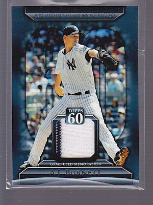 HOT 2011 Topps 60 Relic A.J. Burnett NY Yankees        *stk0144