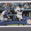 2011 TOPPS Curtis GRANDERSON  rare Retro Brown Back exclusive ______  (stkbb14)