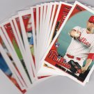 Champs??? PHILADELPHIA PHILLIES 19 Card team set  2010 TOPPS Series 1 &