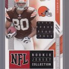 2009 ABSOLUTE RPM GAME JERSEY BRIAN ROBISKIE BROWNS OSU