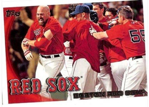 2010 Topps BOSTON RED SOX  series  2 Team set = 14 card Set!